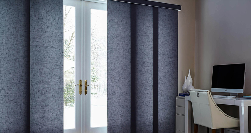 blinds on doors