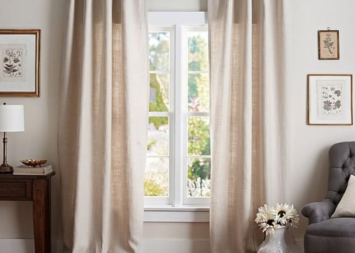 light drapes for windows