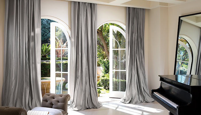 Curtains and drapes for summer