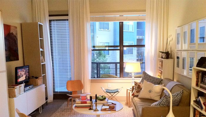 Curtain ideas for small space