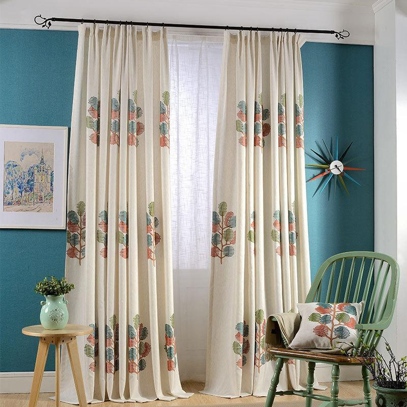 Long and high curtains