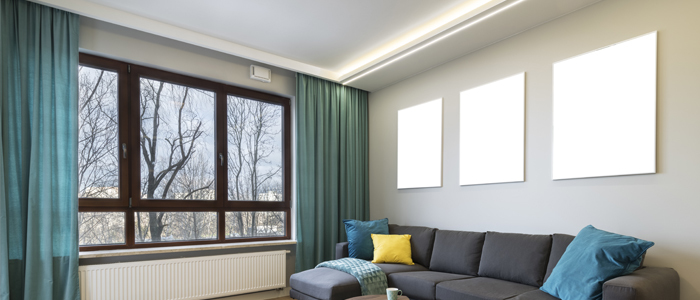 Right length and width curtain