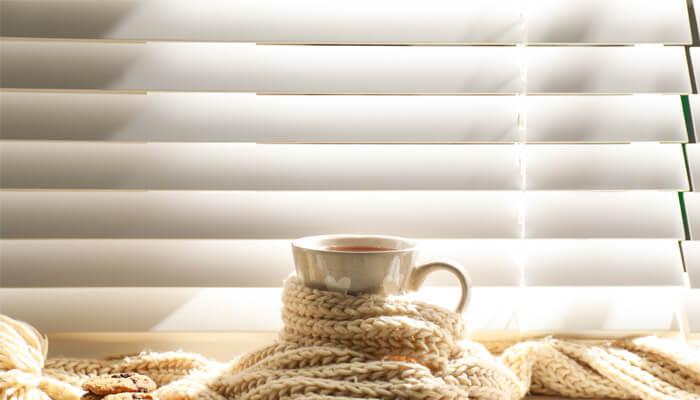 Winter window coverings