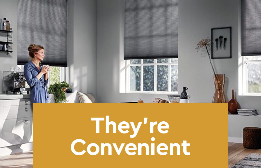 They're Convenient