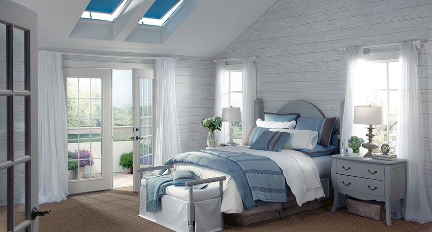 motorized windows skylights