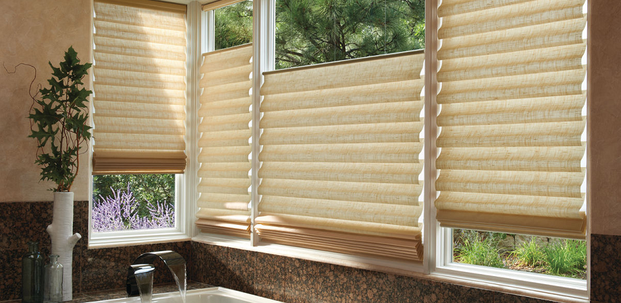 Different Types Of Roman Shades To Stylize Windows