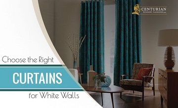 3 Essential Tips to Choose the Right Curtains for White Walls