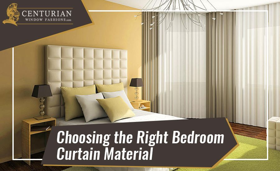 Choosing the Right Bedroom Curtain Material