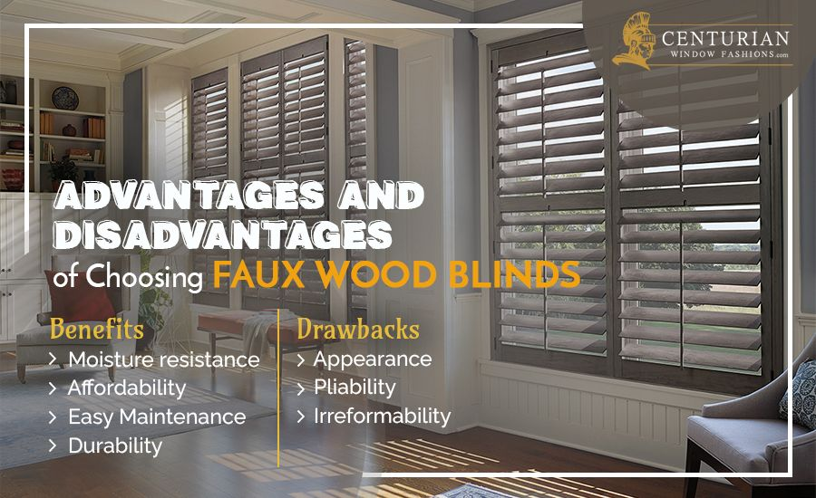 Advantages and Disadvantages of Choosing Faux Wood Blinds 02