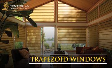 trapezoid windows