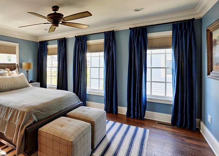 dark drapes for windows