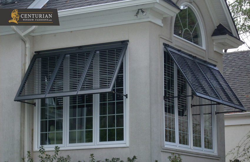 Exterior Window Shutters – Bermuda or Bahama