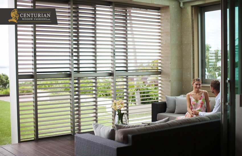 Exterior Window Shutters - Louvred