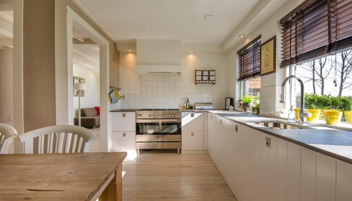 Window treatment for kitchen