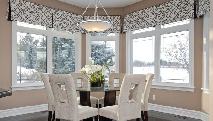 Valances for small space